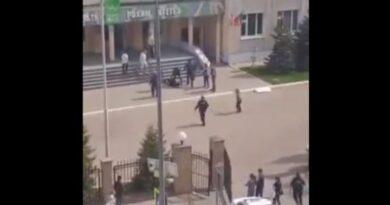 Пуцао на другове: Први снимци хапшења убице из Русије